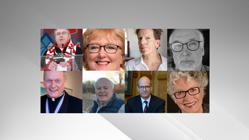 Eight Albertans inducted into Order of Canada