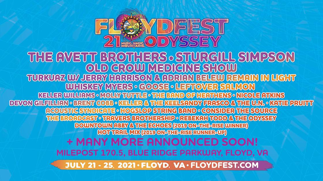 Devon Gilfillian, Brent Cobb, Keller & The Keels added to lineup for FloydFest 21~Odyssey | Music