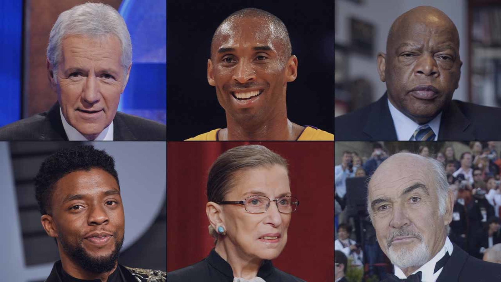 Remembering influential people who died in 2020: Kobe, RBG, Trebek and more