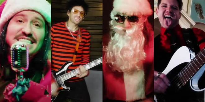 """Escape The Fate Debut Festive Music Video For Their Pop-Punk Inspired """"Christmas Song"""" — WATCH – Music Mayhem Magazine"""