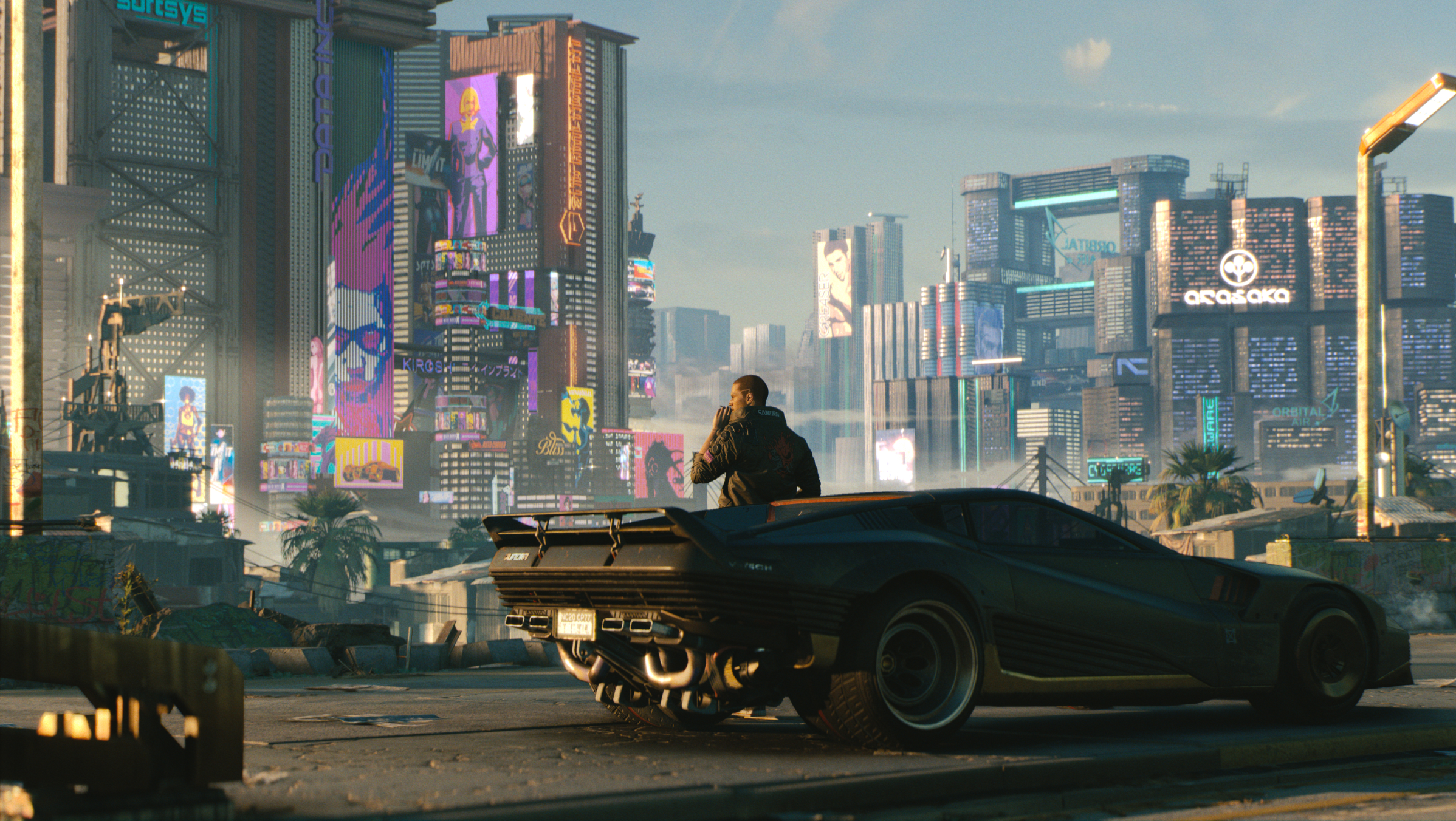 A Review of Cyberpunk 2077's Open World Dystopia