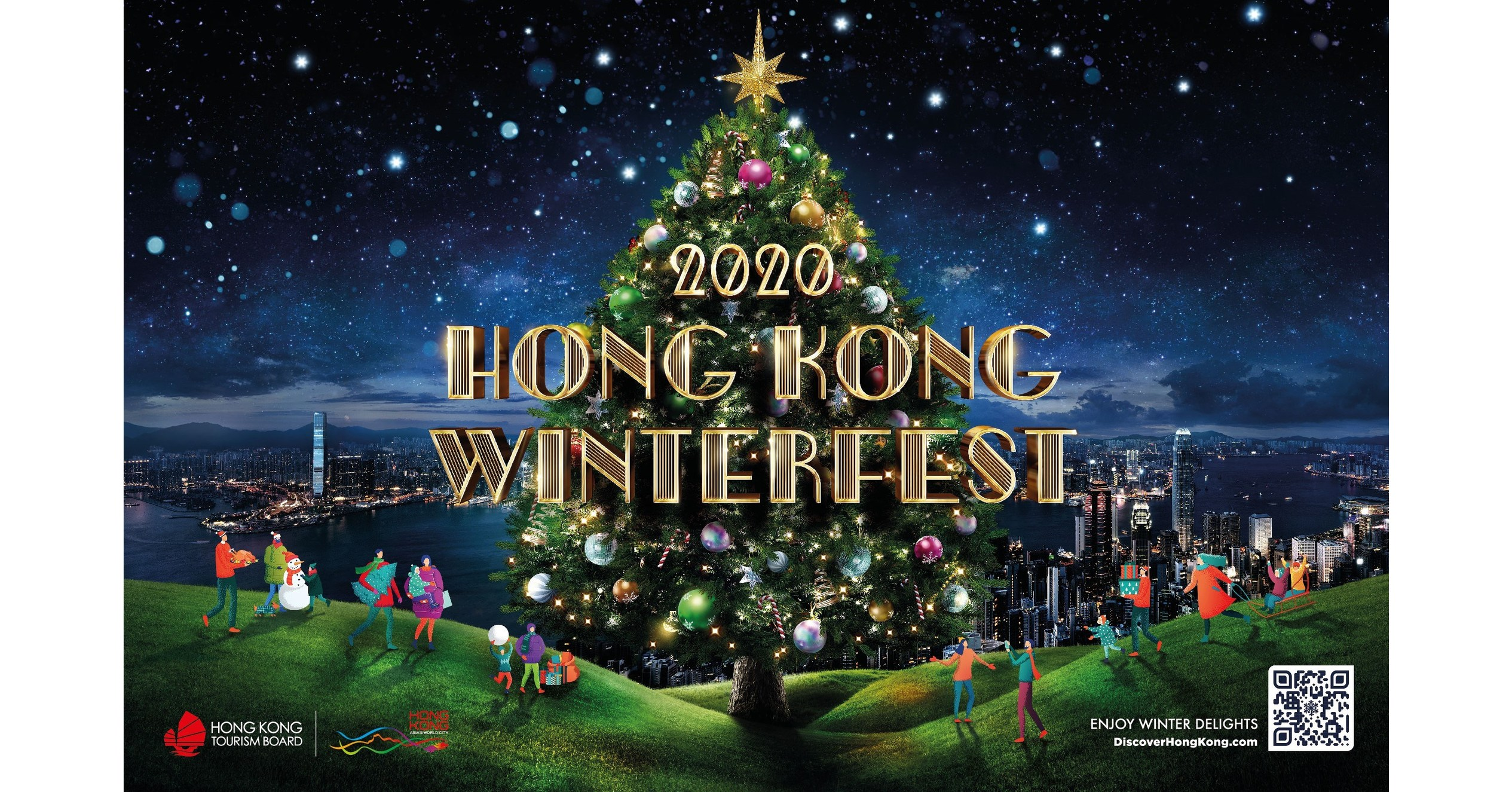 Hong Kong Turns to Technology to Dazzle this Christmas