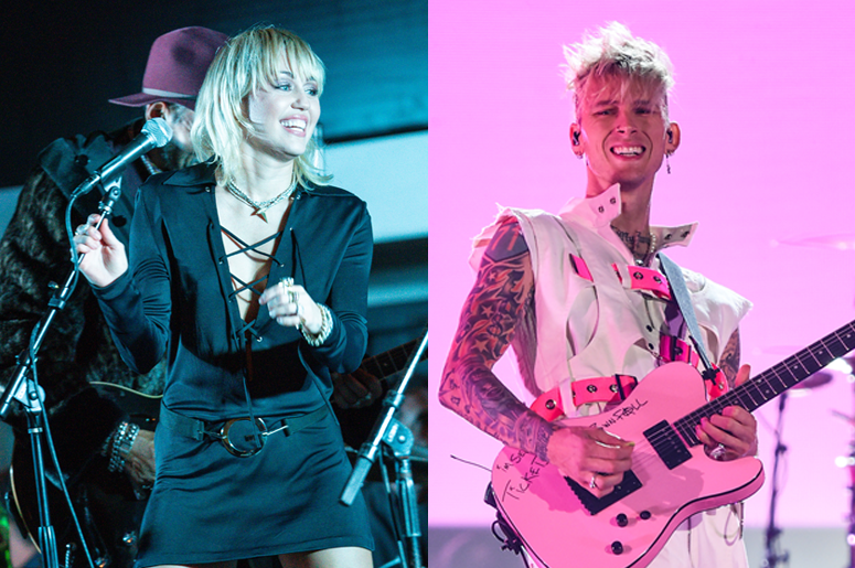 Say goodbye to 2020 by rockin' out with MGK and Miley Cyrus