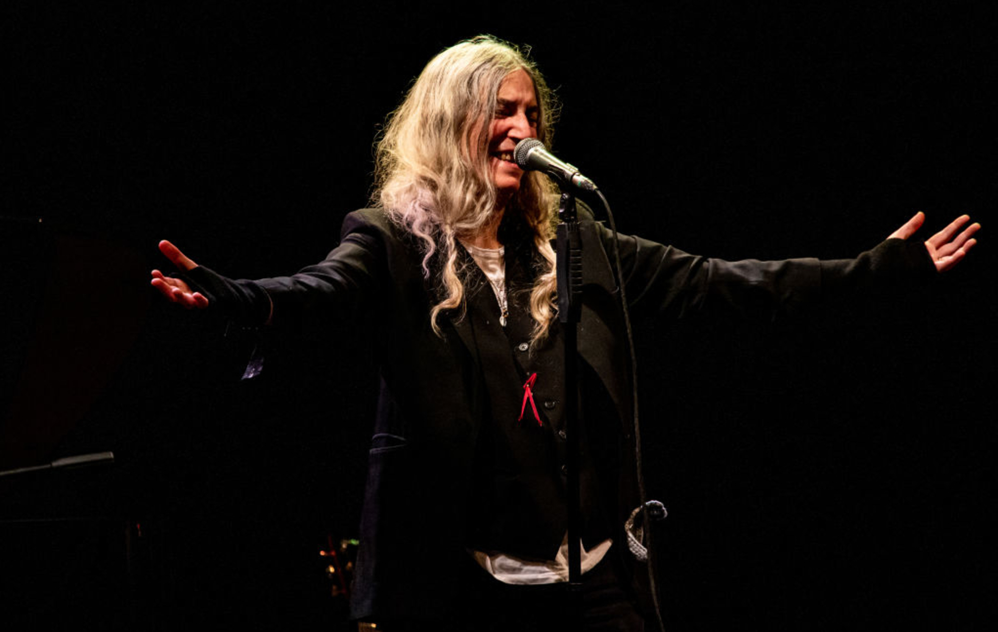 """Patti Smith says Donald Trump's time in office has been """"a terrible atmosphere to live in"""""""
