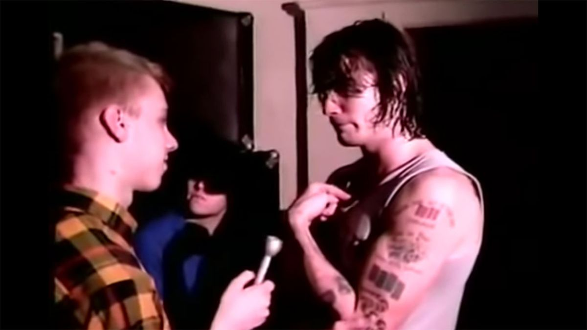 Watch Henry Rollins put a Black Flag fan on blast in 1984