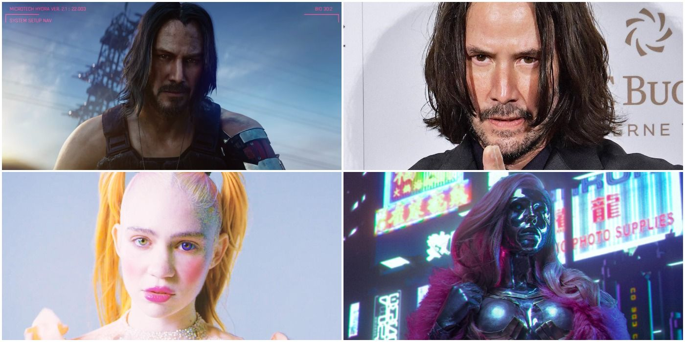 What Cyberpunk 2077 Characters Look Like In Real Life