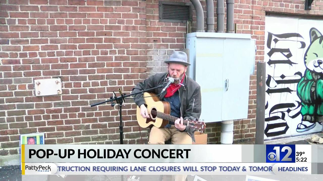 Pop-up music concerts happening all throughout Hattiesburg this holiday season