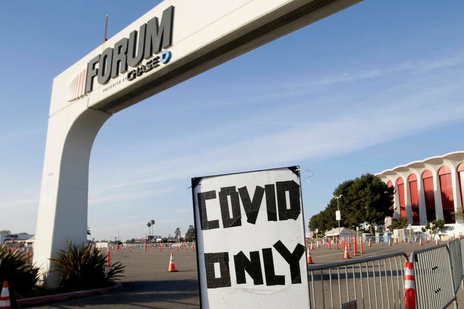 Southern California hospitals overwhelmed by coronavirus cases