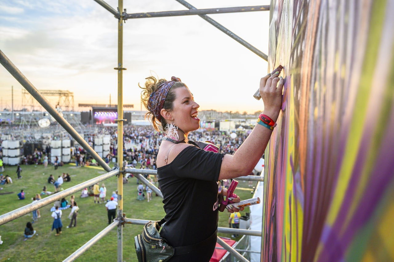 From the Fillmore to honoring the Hard Rock Three, Monica Rose Kelly's art