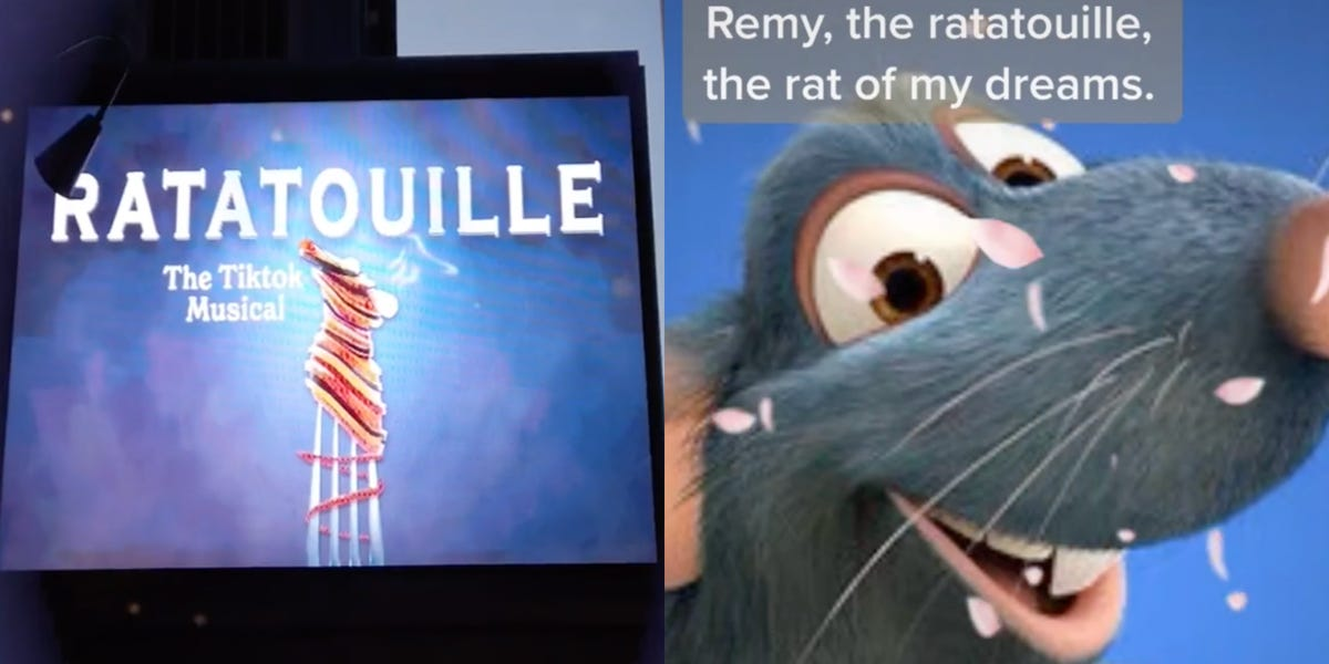 'Ratatouille' musical from TikTok earned $1 million in ticket sales