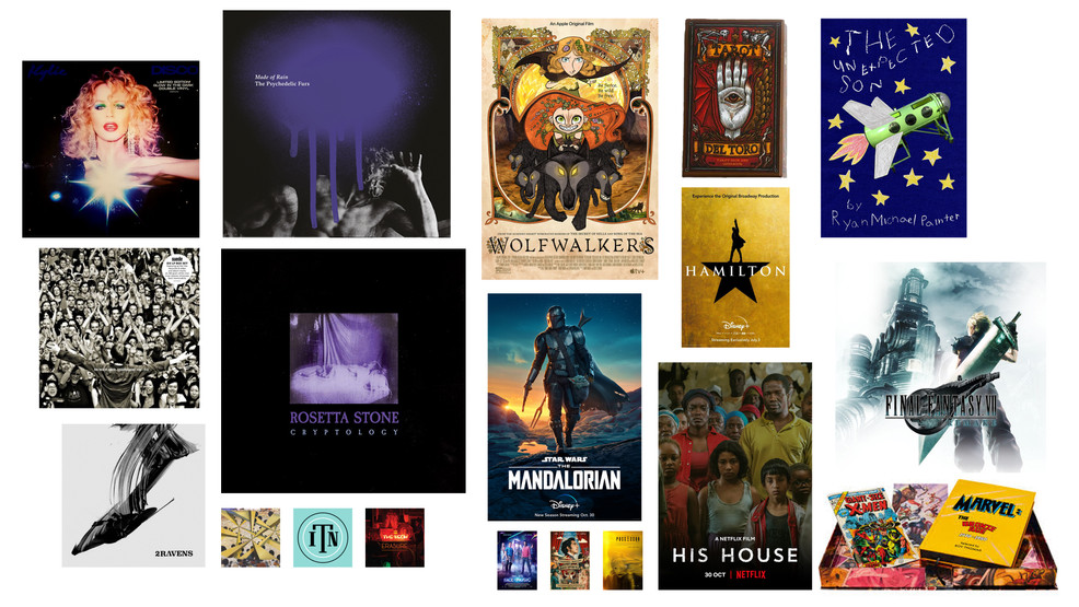 Things I loved in 2020: Movies, Books, Music – Turn to 10