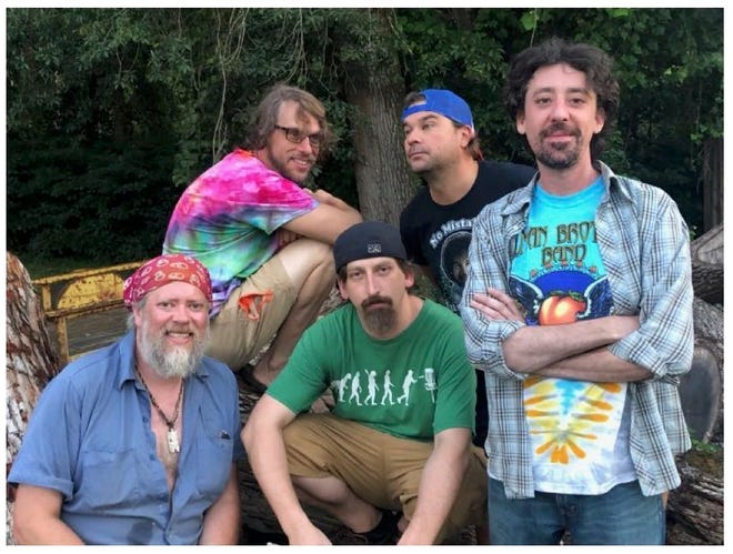 Live Music:Dirty Dead takes inspiration from the Grateful Dead, to perform at Mills River Brewing
