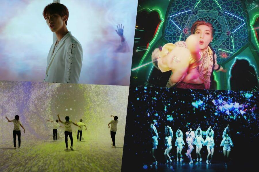 15 Beautifully Psychedelic K-Pop MVs That Will Have You Mesmerized