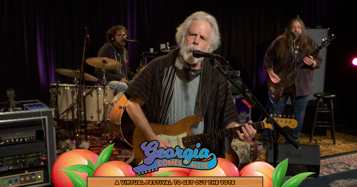 The Lame Ducks Ft. Bob Weir, Dave Schools, Jay Lane, & Jeff Chimenti Bring Grateful Dead Spirit To Georgia Comes Alive [Watch]