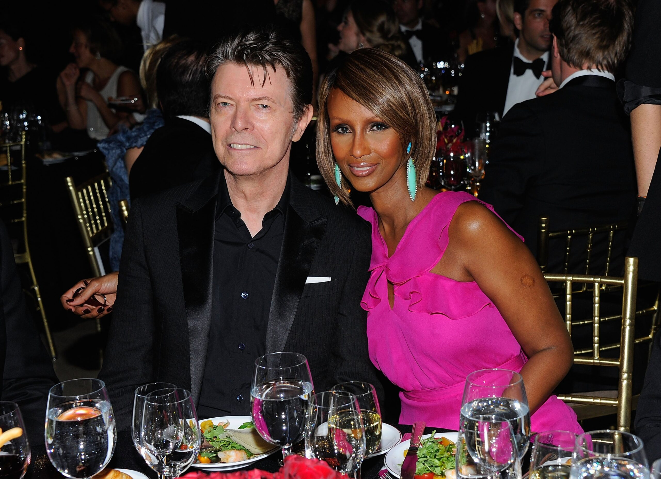 'I wish we had had more years': David Bowie's wife Iman says she'll 'never' marry again