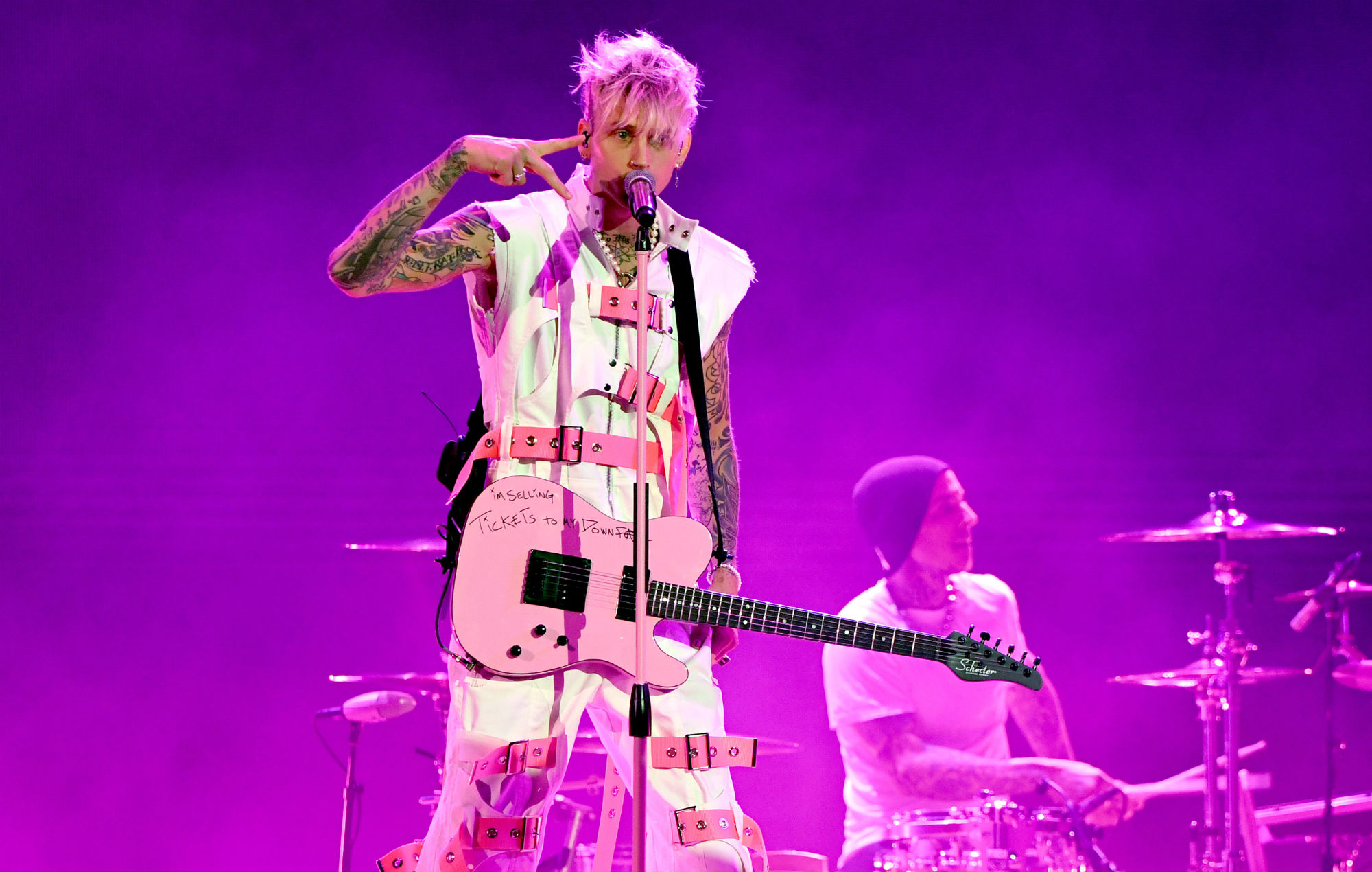Machine Gun Kelly shares trailer and release date for 'Downfalls High' musical