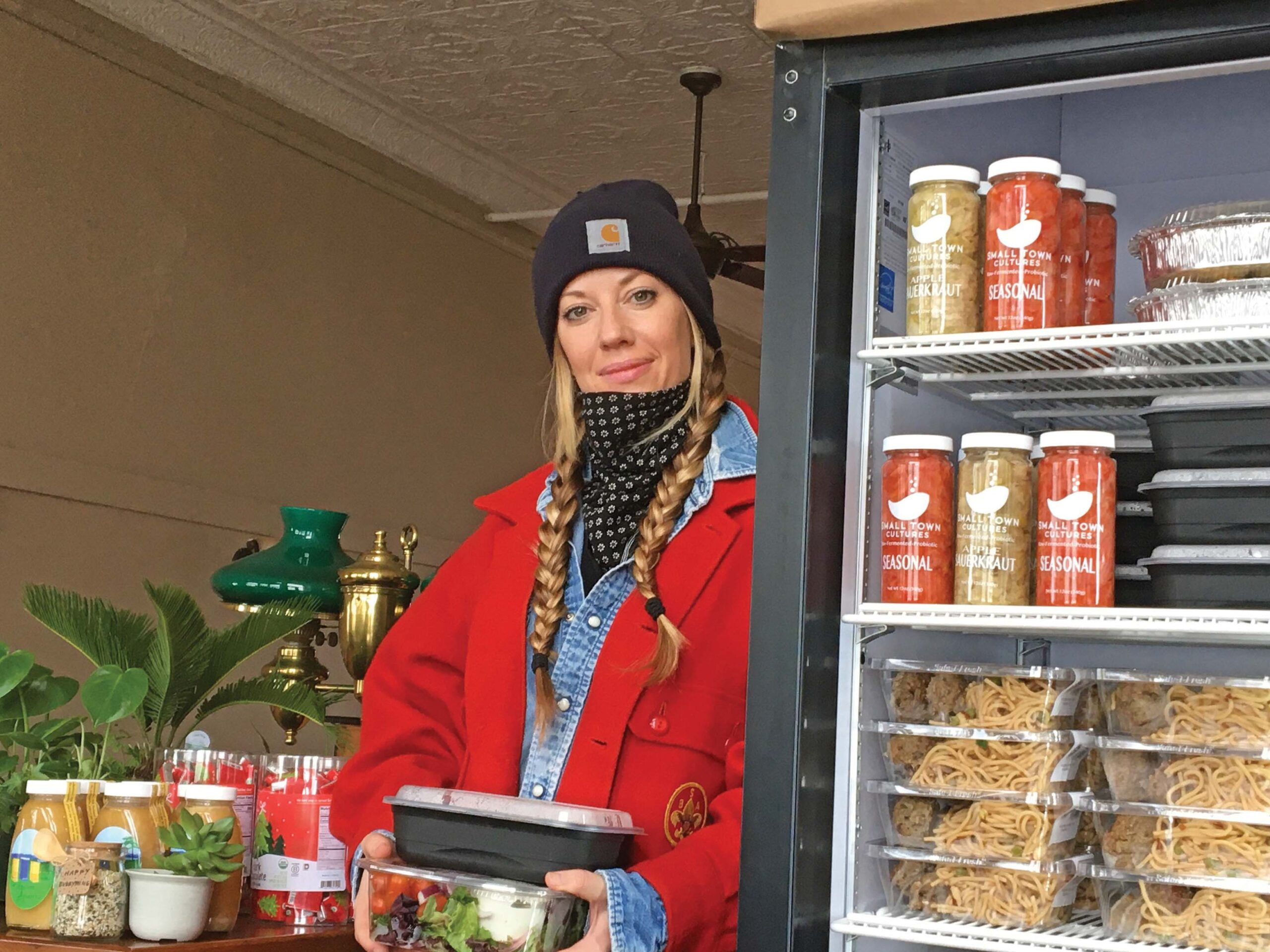 The Giving Fridge offers food for the hungry