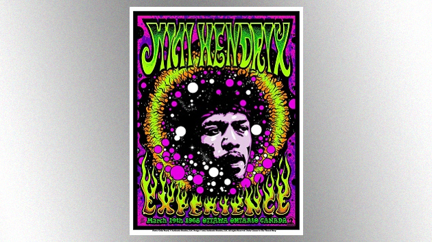 New limited-edition psychedelic Jimi Hendrix prints available this Friday – Music News