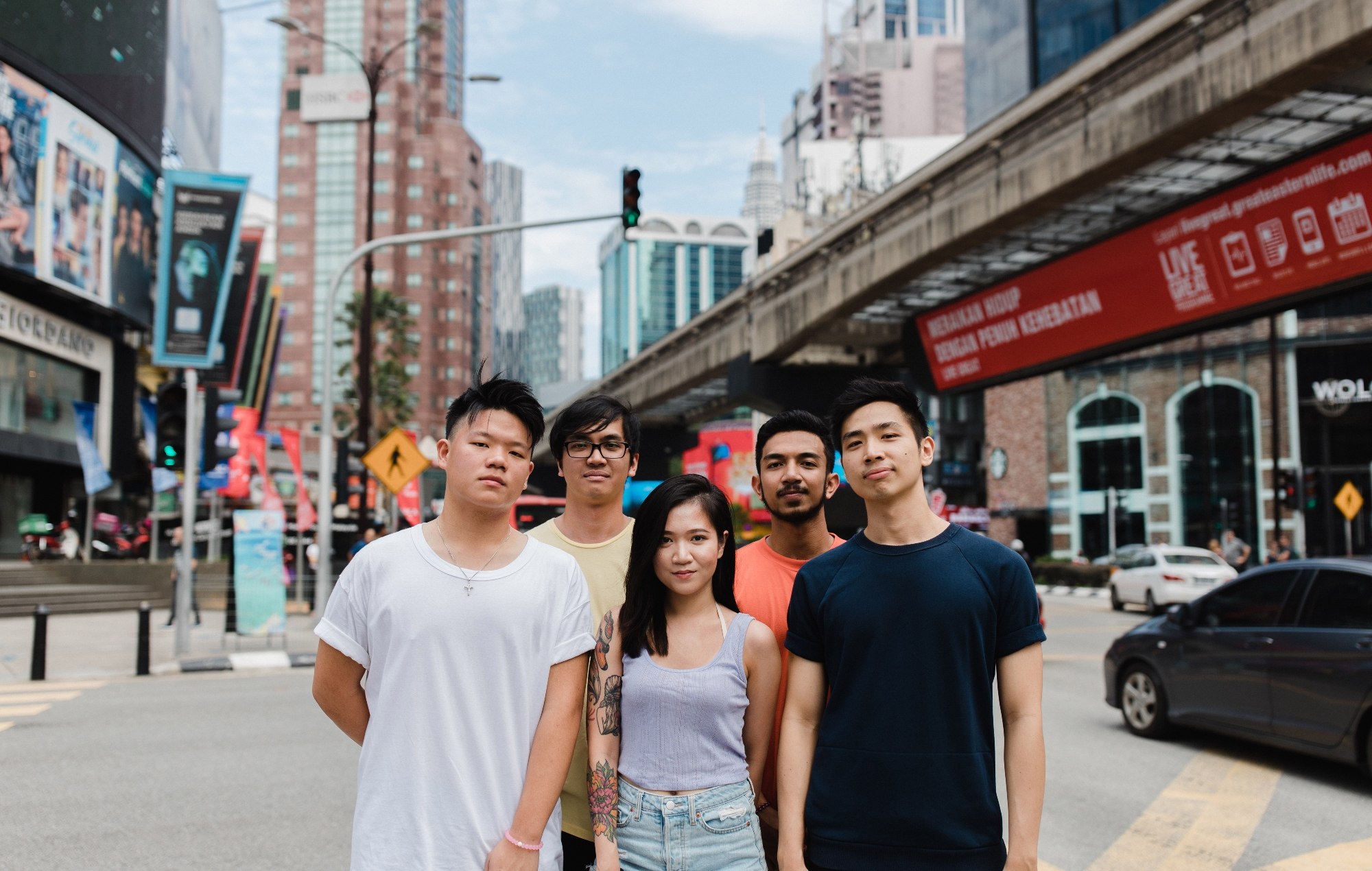 Malaysian pop punk band Night Skies & Visions drop 'Sugar, Spice & Some Things Nice' EP
