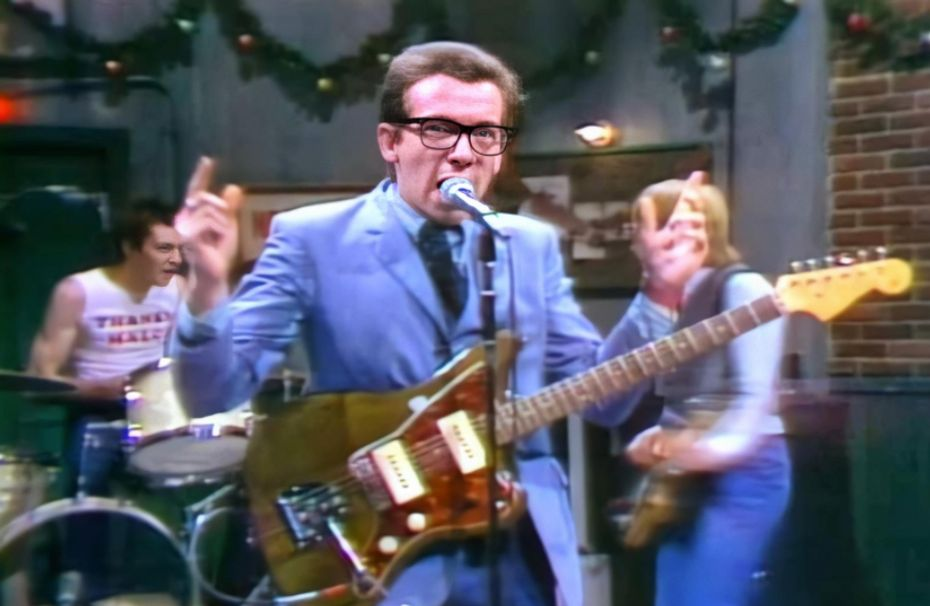 Why Elvis Costello was banned from 'Saturday Night Live'