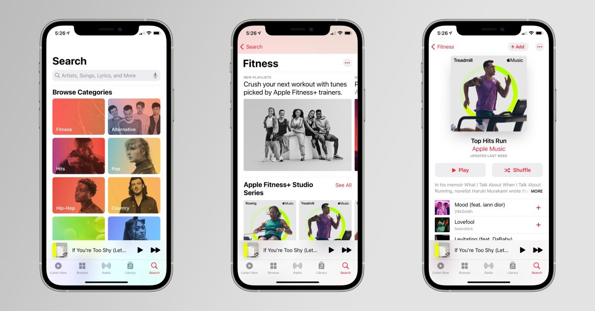 Apple promotes Fitness+ and Apple Music integration with 'Studio Series' playlists