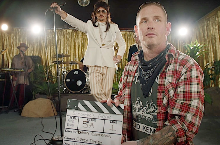 """Slipknot's Corey Taylor Pokes Fun at """"Indie Rock"""" in His New """"Samantha's Gone"""" Video"""