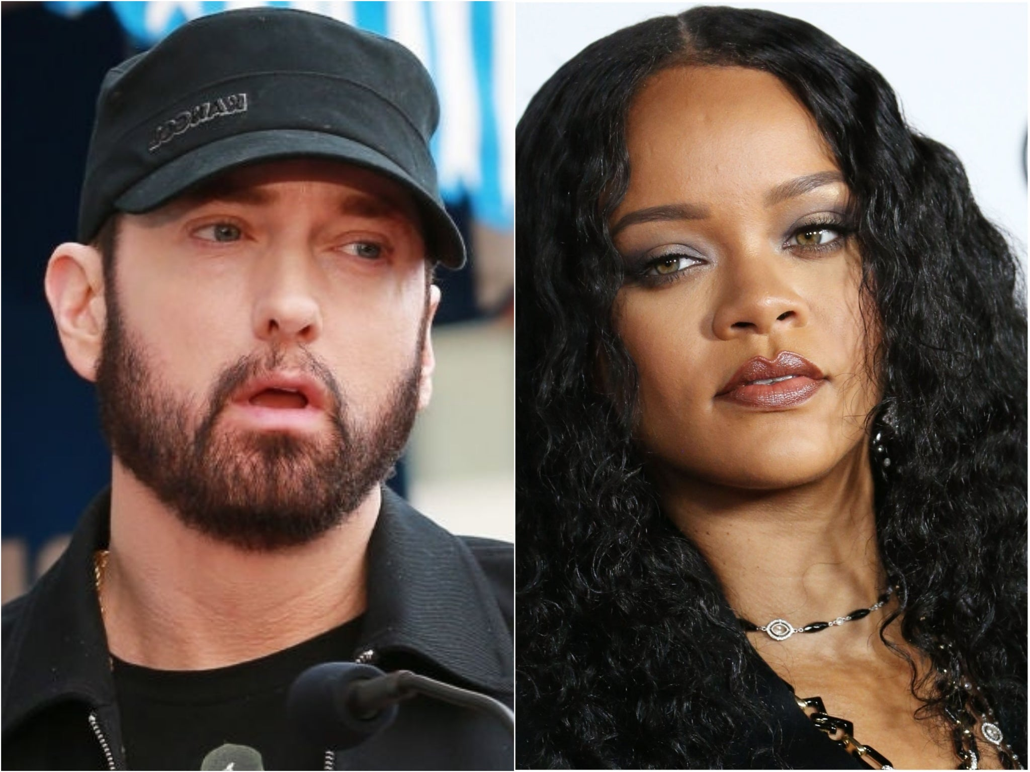 Eminem opens up about controversial Rihanna lyrics after apologising on new album: 'I said it cause it rhymed'