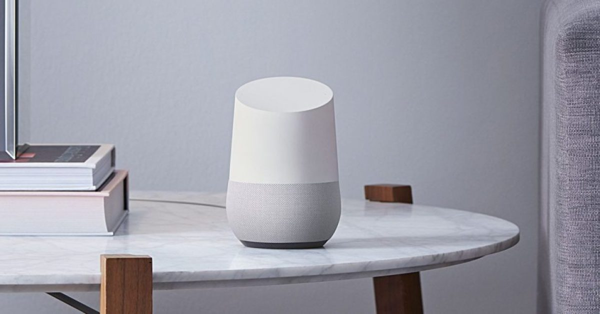 Google Home leverages Assistant and works with Apple Music, more at $40 (Reg. $100)