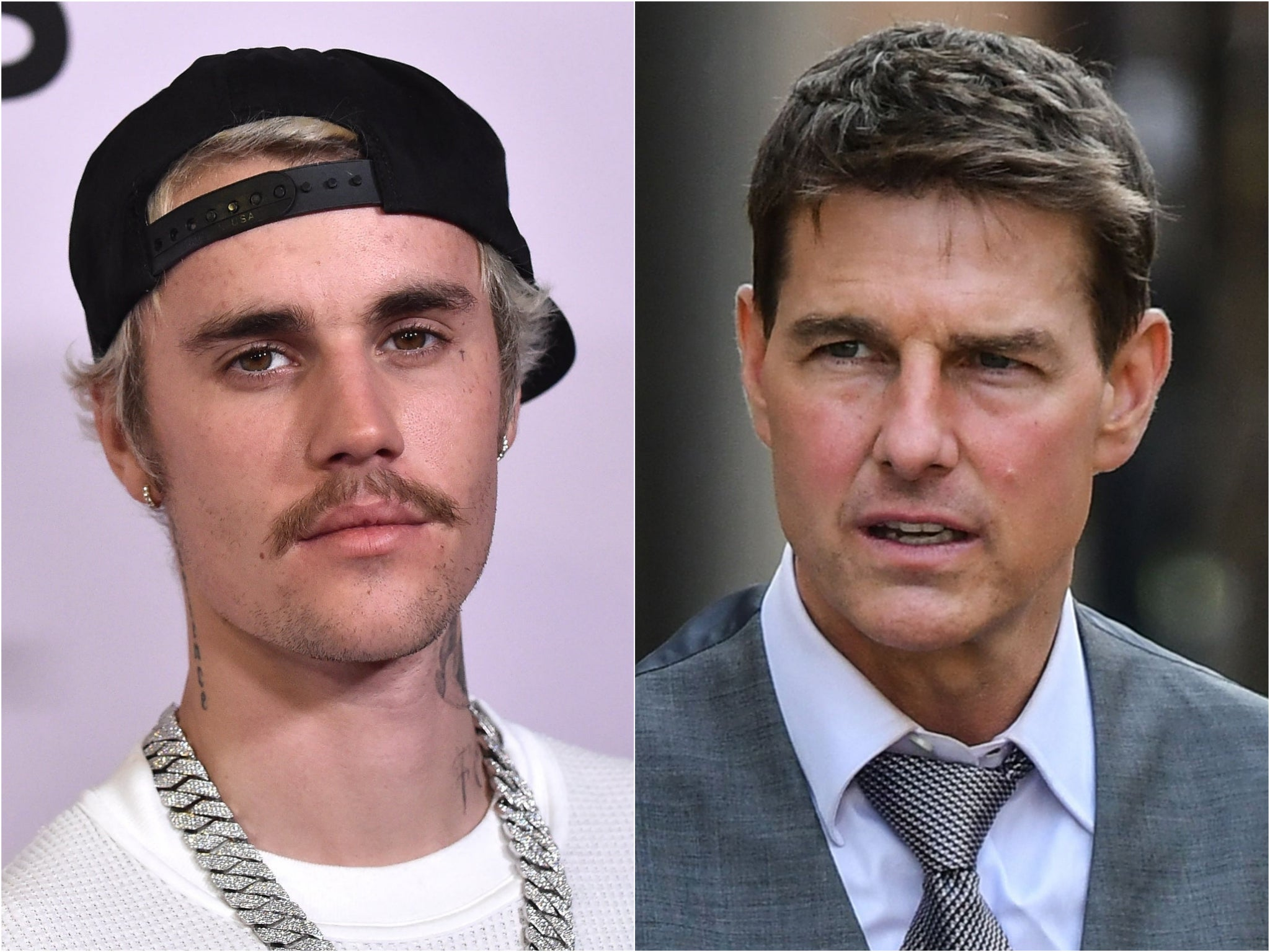 Justin Bieber says Tom Cruise is 'toast' as he renews offer to fight actor