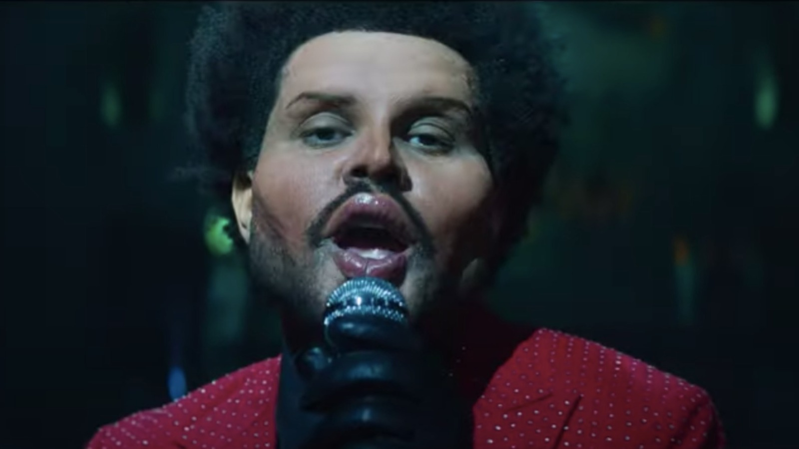 What's really going on with The Weeknd's face?