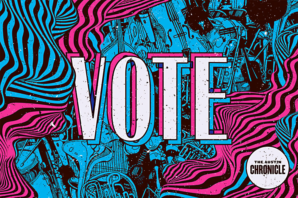 Faster Than Sound: Don't DM Me, Vote in the Austin Music Poll! The Austin Music Poll is open all month. Go vote – online! – Music