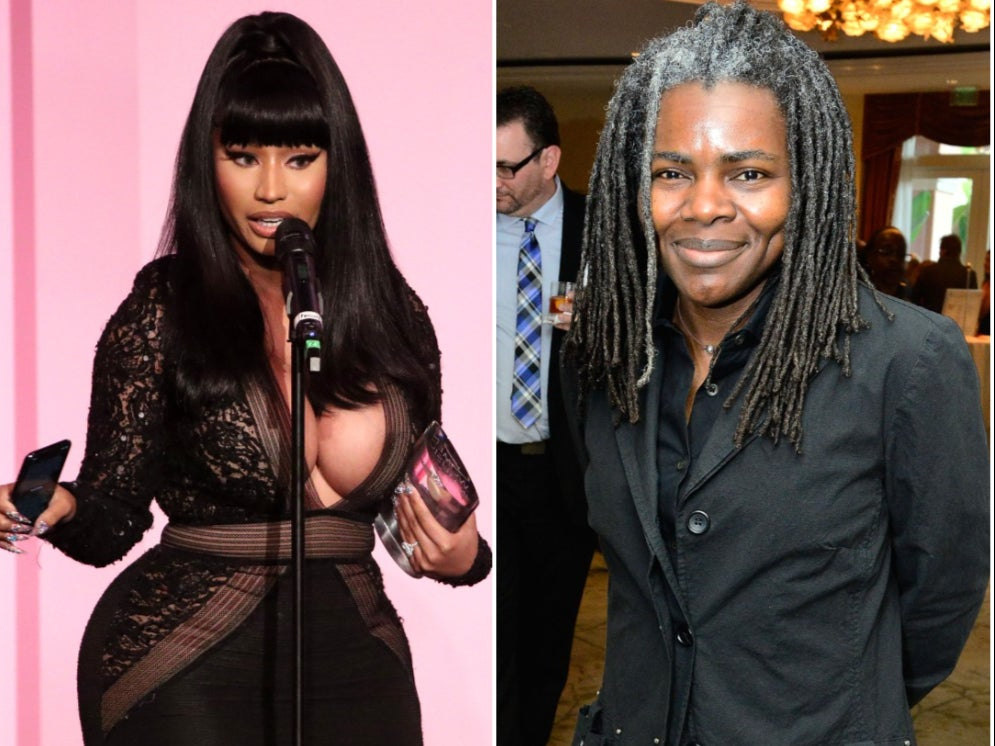 Nicki Minaj to pay Tracy Chapman $450k in 'Sorry' copyright infringement lawsuit