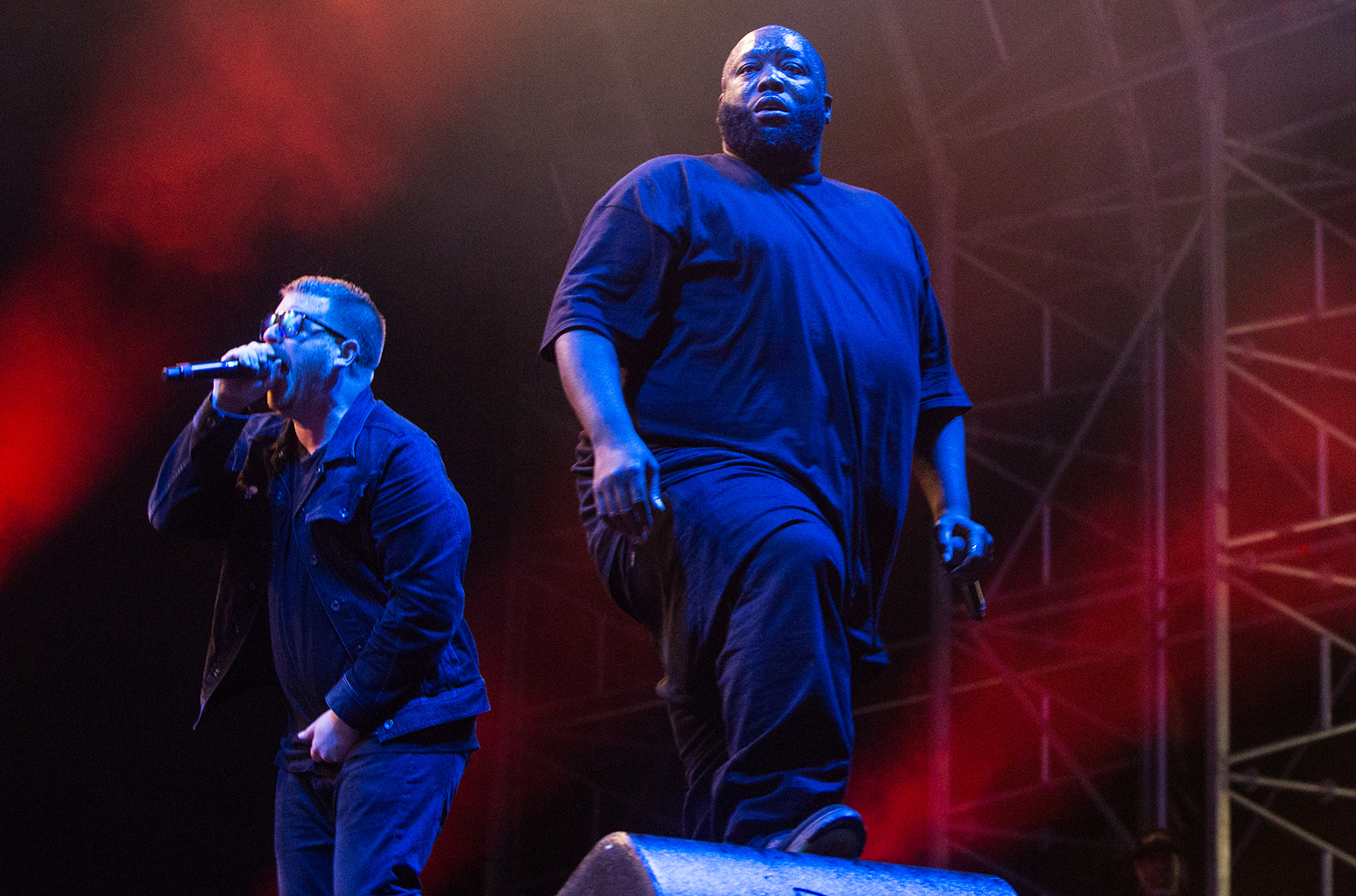 Run The Jewels action figures star in 'Walking In The Snow' music video