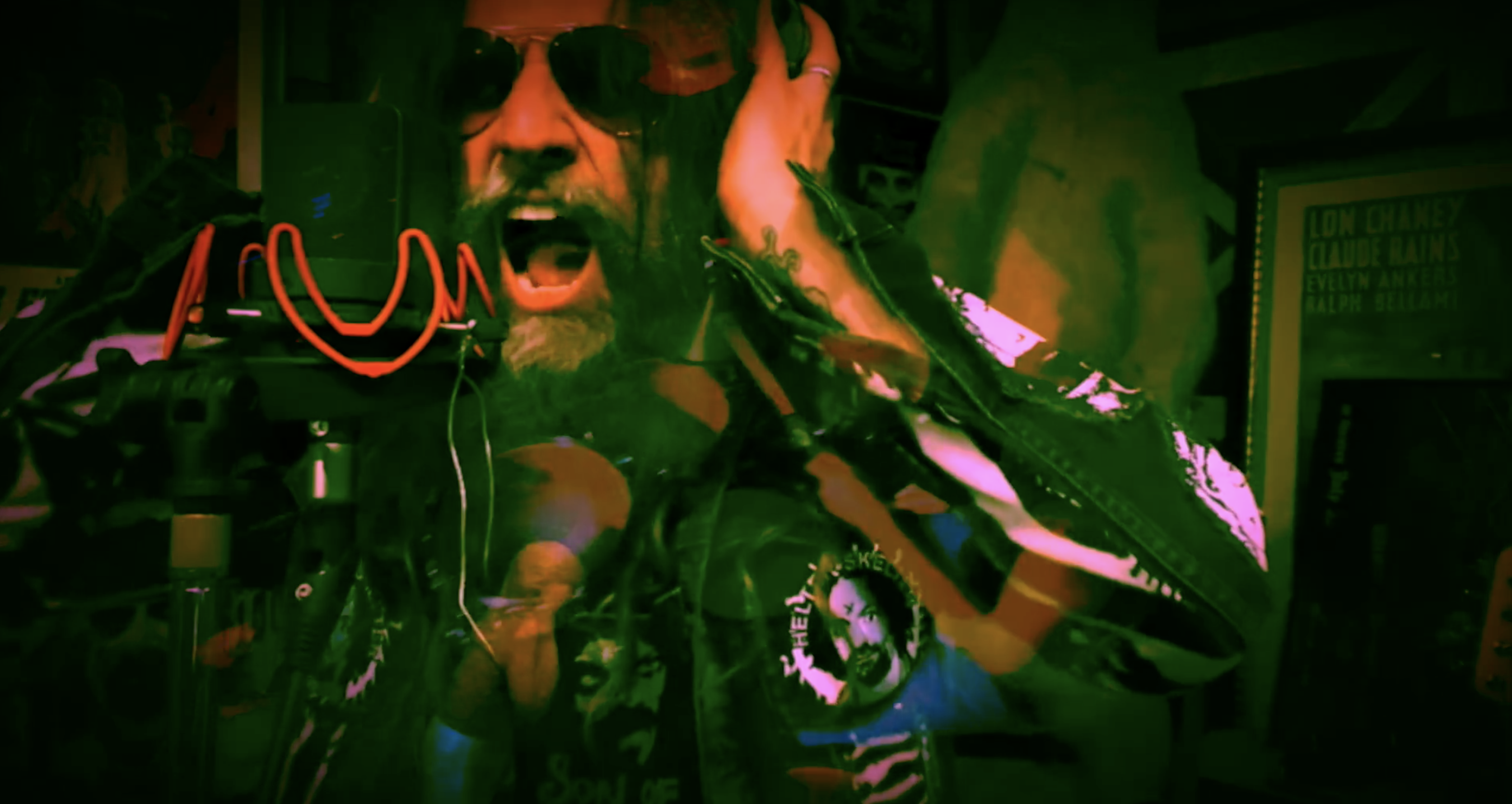 """Hear Rob Zombie's Raucous New Song """"The Eternal Struggles of the Howling Man"""""""