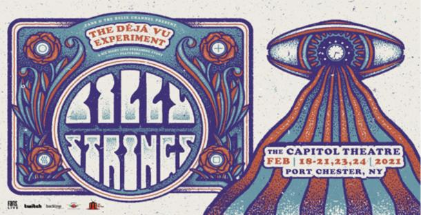 "Billy Strings' ""The Déjà Vu Experiment"" livestream series launches February 18"