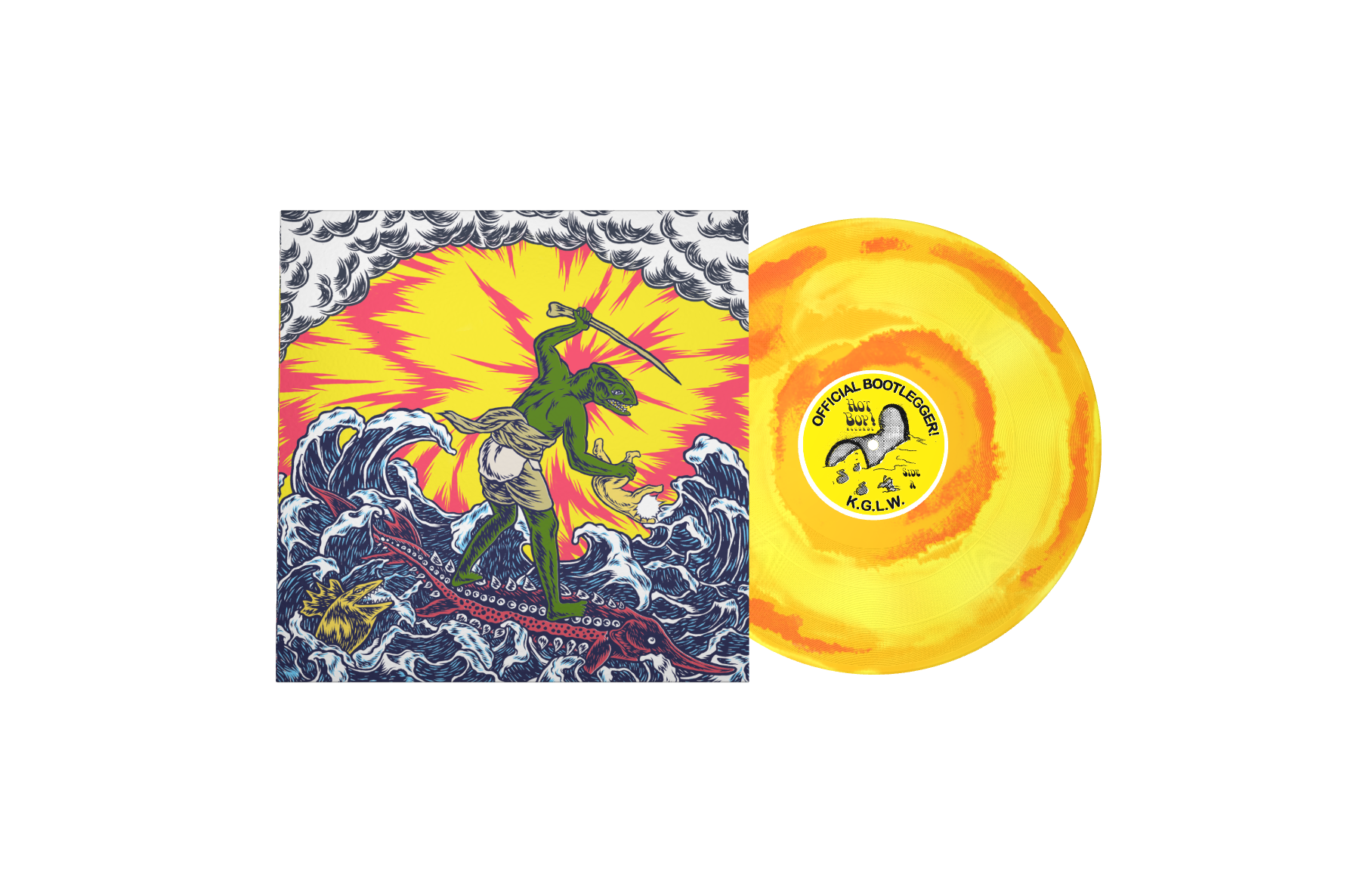 Limited edition King Gizzard & the Lizard Wizard vinyl – ALL proceeds to Mind mental health charity