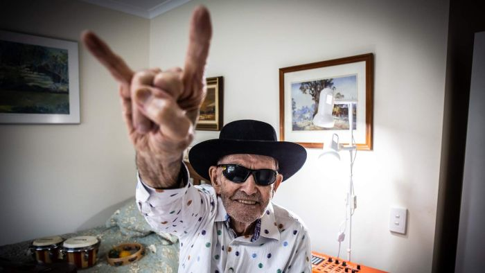 Blind, deaf, 88yo grandfather launches music career on YouTube to beat isolation blues