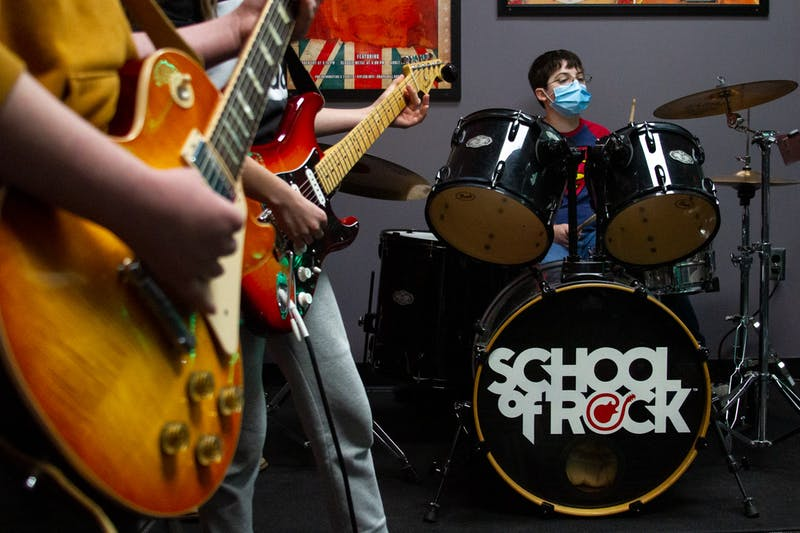 School of Rock Chapel Hill alters their music education during the pandemic