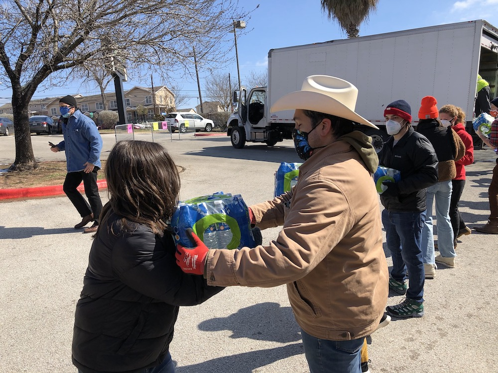 Faster Than Sound: Free Lunch Creatives Feed Austin's Unhoused: Musicians rally for emergency storm relief, and Spicewood's Katy Kirby debuts on Keeled Scales. – Music