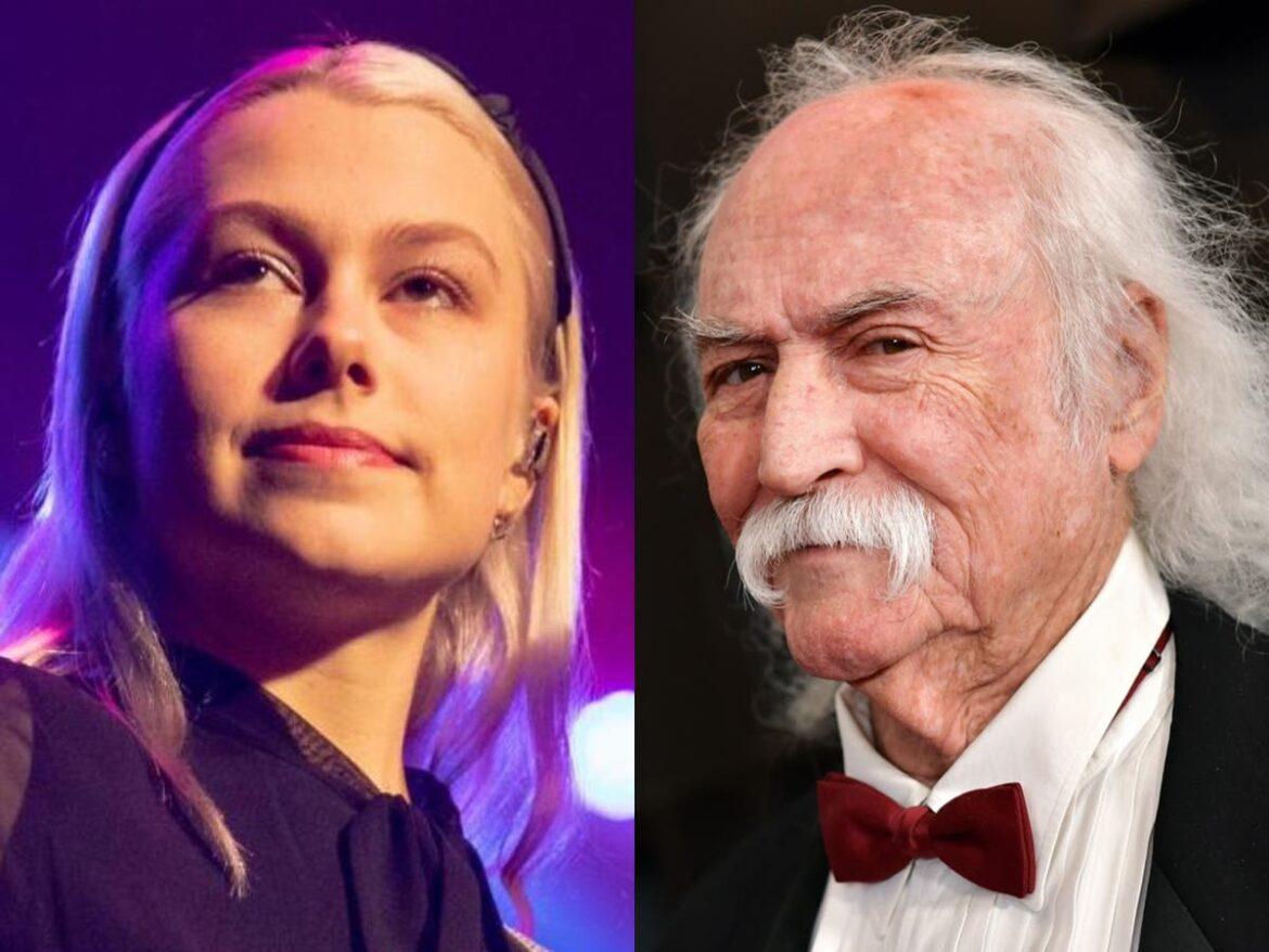 Phoebe Bridgers calls David Crosby a 'little b***' after her labels her guitar-smashing stunt 'pathetic'