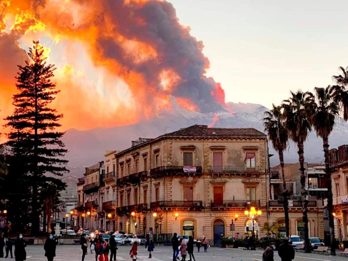 'Will it be another Pompeii?': Sicilians laugh off alarm over Mount Etna eruption