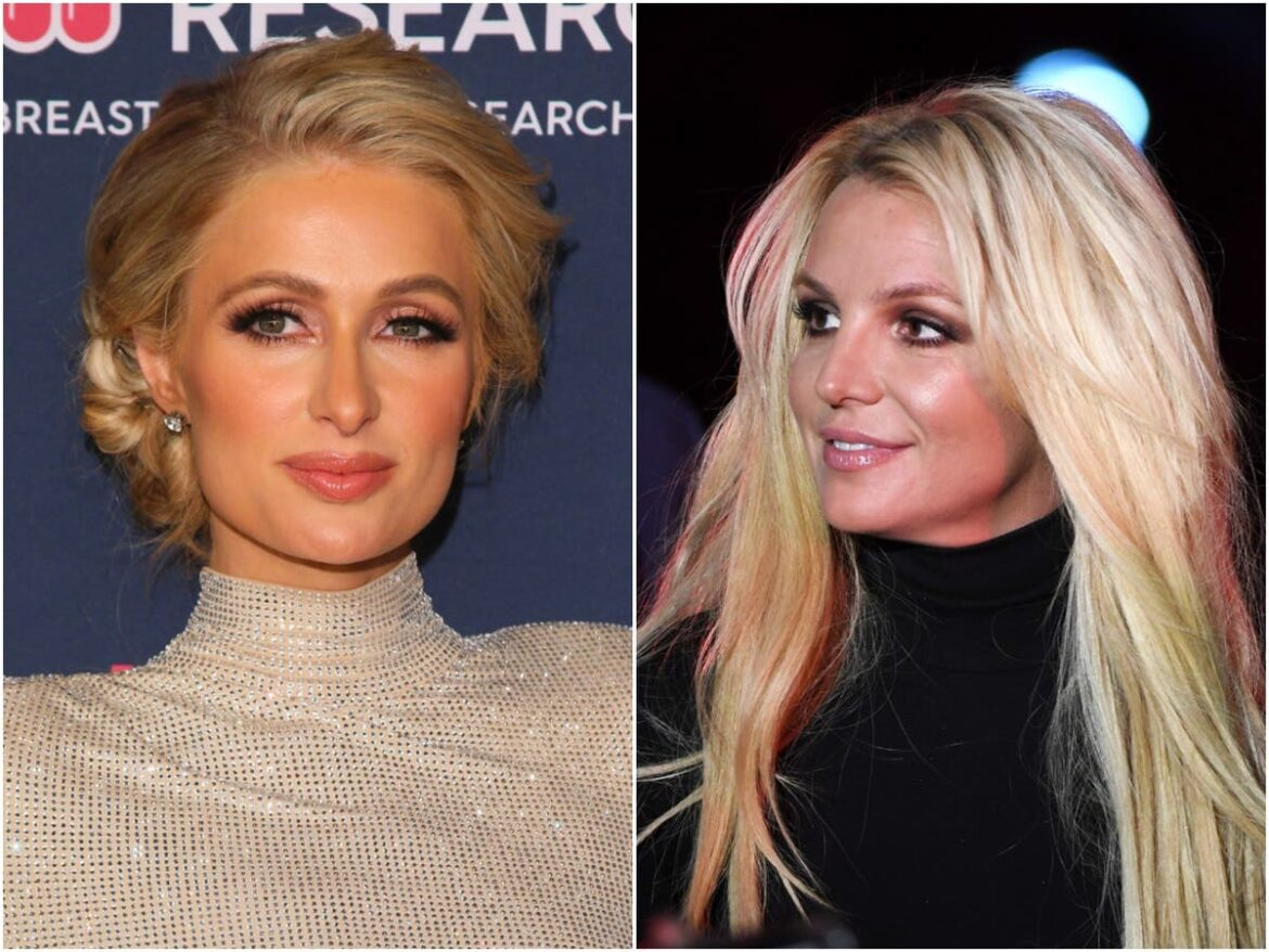 Paris Hilton says Britney Spears's conservatorship is 'not fair': 'I can't imagine being controlled like that'