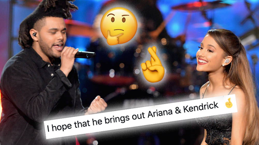 The Weeknd Superbowl Performance Guest Star Rumours From Ariana Grande & Daft Punk