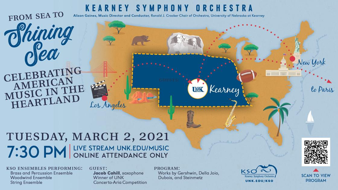 Kearney Symphony Orchestra streaming Sea to Shining Sea concert free | State and Regional News