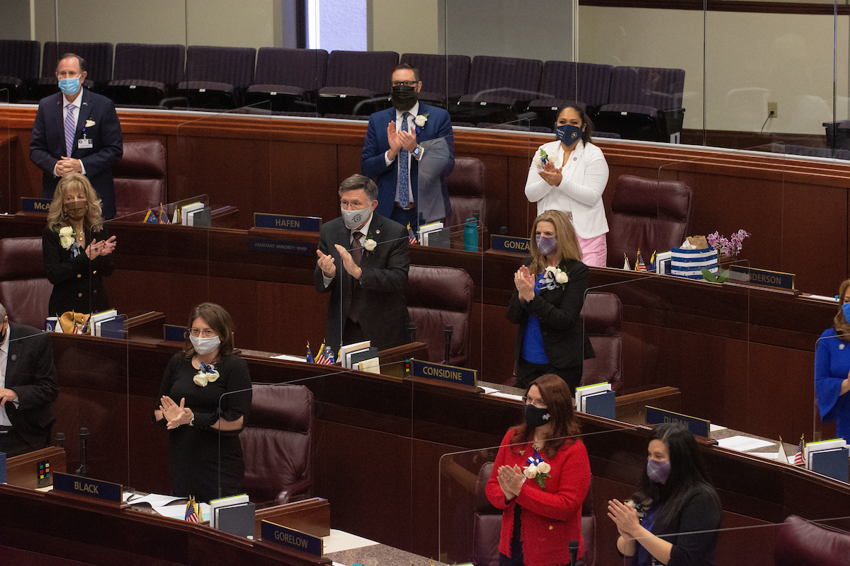 First day of the 2021 Legislature starts with COVID precautions in place, less fanfare than normal