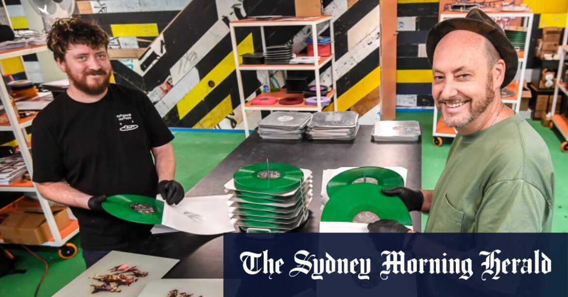 $400,000 later, Australia's first new press in 30 years is here