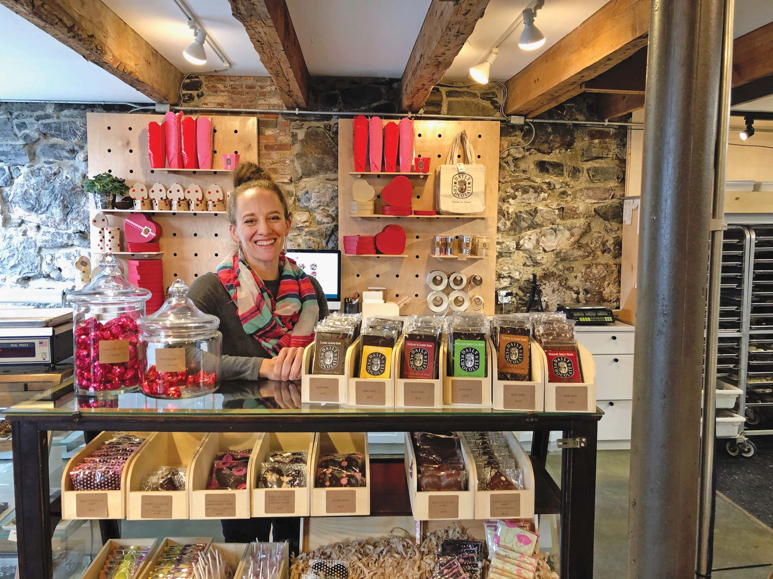 New chocolate shop owner has a sweet start