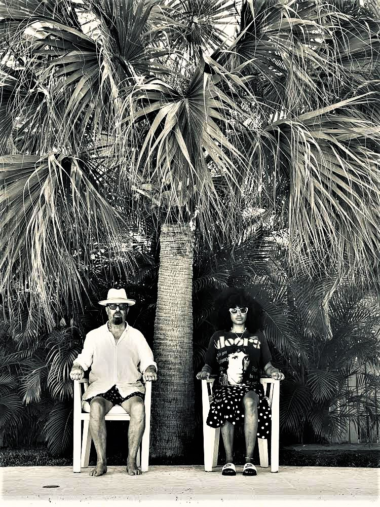 Dave Stewart & Iris Gold Head into the Studio in The Bahamas – American Songwriter