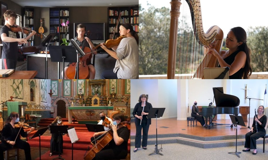 Virtual Event: First Fridays at Four Concerts