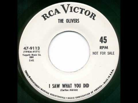 MORE COWBELL! The Olivers – I Saw What You Did